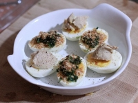 Яйца по-сардски