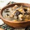 Густой грибной суп с перловкой