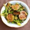Острый салат из баклажан