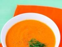 Морковно-имбирно-апельсиновый суп