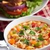 Быстрый овощной суп.