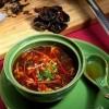 Кисло-сладкий острый суп.
