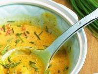 Тыквенный суп со вкусом карри.