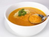 Суп из моркови и кориандра.