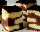 Сырник с шоколадным тестом.
