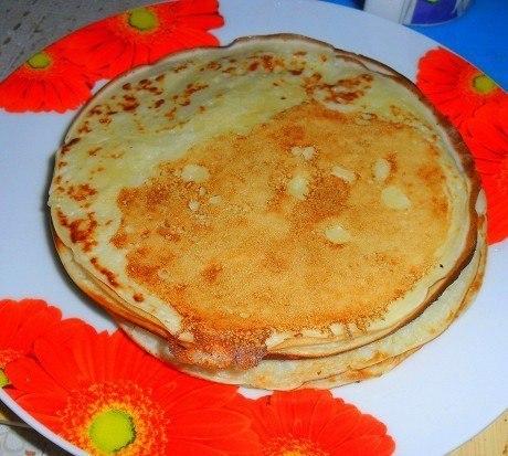 Блины на простокваше рецепт с фото пошагово